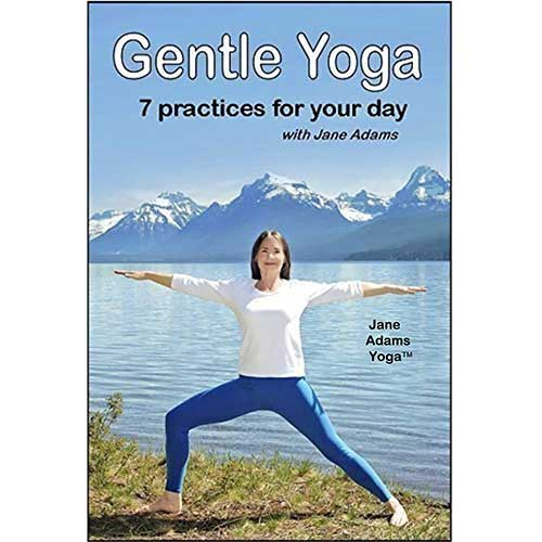 9. Gentle Yoga: 7 Beginning Yoga Practices for Mid-life (40's - 70's) including AM Energy, PM Relaxation, Improving Balance