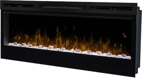 5. Dimplex Prism 50-Inch Wall Mount Linear Electric Fireplace - BLF5051