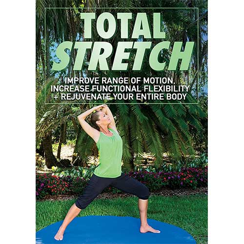 3. Total Stretch DVD: Improve Range of Motion, Increase Functional Flexibility + Rejuvenate Your Entire Body