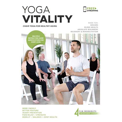 4. Yoga Vitality - Chair Yoga For Seniors, Older Adults, and Absolute Beginners