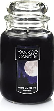 8. Yankee Candle Large Jar Candle Midsummer's Night