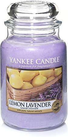 4. Yankee Candle Large Jar Candle Lemon Lavender