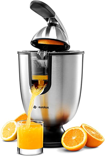 9. Eurolux ELCJ-1700 Electric Citrus Juicer Squeezer