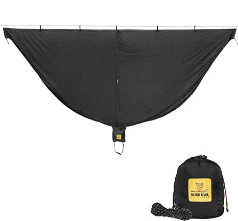 1. Wise Owl Outfitters Hammock Bug Net - The SnugNet Mosquito Net for Bugs