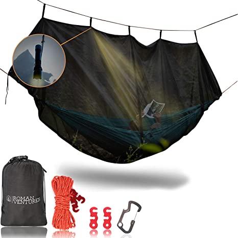 10. Hammock Bug Net - Hammock Mosquito Net Fits All Camping Hammocks