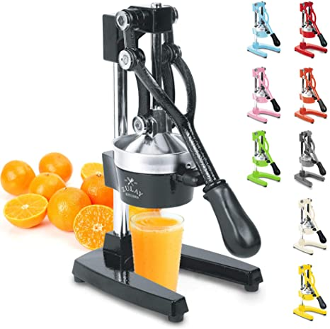 1. Zulay Professional Citrus Juicer - Manual Citrus Press and Orange Squeezer