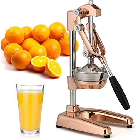 10. Zulay Professional Citrus Juicer - Premium Manual Citrus Press and Orange Squeezer