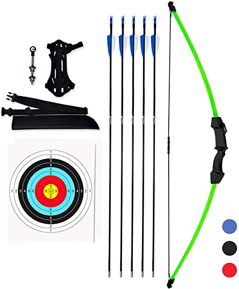 3. KESHES Archery Recurve Bow and Arrow Youthbow Set