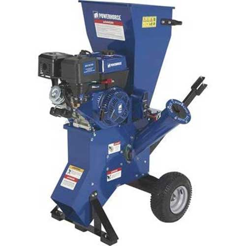 5. Powerhorse Chipper/Shredder - 420cc OHV Engine, 4in. Chipping Capacity