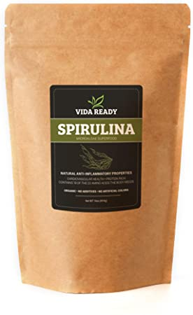 8. Spirulina (Algae Superfood) - 1 lb Resealable Pouch