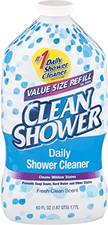 10. Scrub Free Clean Daily Shower Cleaner Refill
