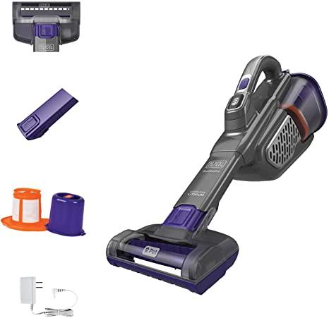 10. BLACK+DECKER dustbuster Handheld Vacuum for Pets, Cordless
