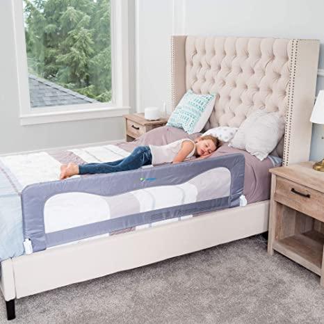 3. Bed Rails for Toddlers &Infants – Kids Bed Safety Guard Rail –Toddler Bed Rails for Twin, Full Size, Queen &King Mattress
