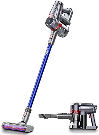 3. Holife Cordless Vacuum Cleaner, 20Kpa Powerful Suction 4 in 1 Stick Handheld Vacuum
