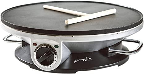 6. Morning Star - Crepe Maker Pro - 13 Inch Crepe Maker & Electric Griddle - Non-stick Pancake Maker