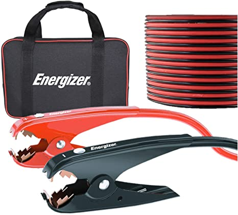 3. Energizer Jumper Cables for Car Battery, Heavy Duty Automotive Booster Cables
