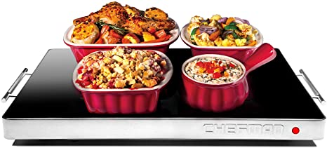 1. Chefman Electric Warming Tray with Adjustable Temperature Control, Perfect For Buffets, Restaurants, Parties, Events, and Home Dinners