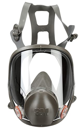 10. 3M Full Facepiece Reusable Respirator 6800, Paint Vapors, Dust, Mold, Chemicals, Medium