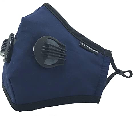 6. Anti-Pollution Face Mask Eco-Gear Particulate Respirator Protection | Anti Dust, Exhaust Gas, Smoke, Pollen and Fumes