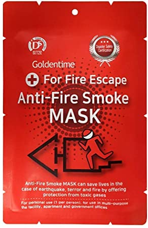 2. Anti-Fire Smoke Mask Safety Escape