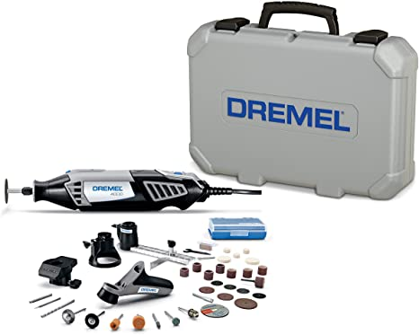 1. Dremel 4000-4/34 Variable Speed Rotary Tool Kit - Engraver, Polisher, and Sander