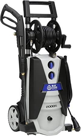 8. AR ANNOVI REVERBERI AR390SS Electric Pressure Washer, Pressure, Grey