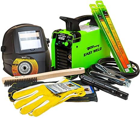 2. Forney Easy Weld 29801 100ST Welder Start-Up Kit, Welding Starter Kit