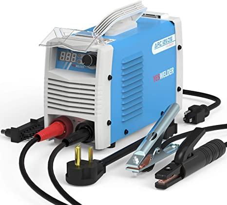 7. YESWELDER ARC Welder 125Amp Digital Inverter IGBT Stick MMA Welder, 110/220V Dual Voltage Hot Start Portable Welding Machine