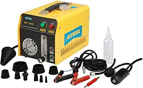3. ourantools AUTOOL SDT-205S Automotive EVAP Smoke Machine Leak Detector, DC12V Fuel Pipe Leak Tester
