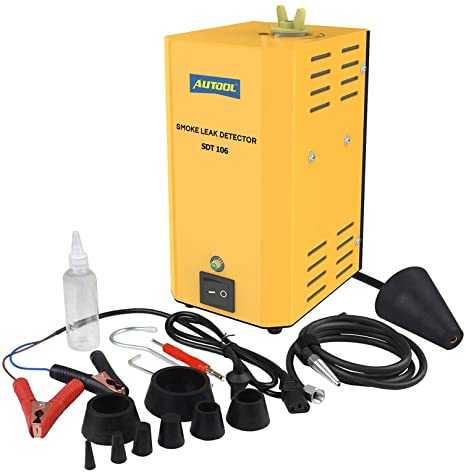 5. ourantools AUTOOL SDT-106 Automotive EVAP Machine Leak Detector, DC12V Auto Fuel Pipe Leak Tester for Car/Motorcycle/Truck