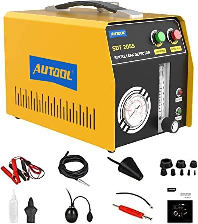 9. MR CARTOOL SDT205S Auto Fuel Pipe Cooling Tank Oil Leak EVAP Smoke Leakage Detector DC12V Fuel Leakage Diagnostic Tester