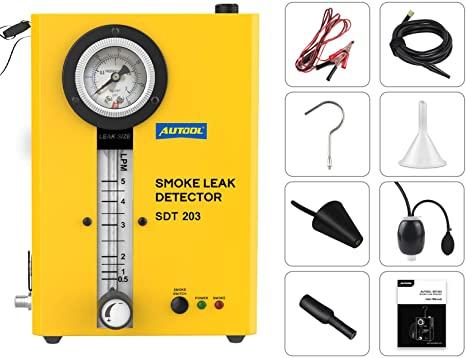 2. AUTOOL EVAP Vacuum Automotive Smoke Machine Leak Detector Diagnostic Tester